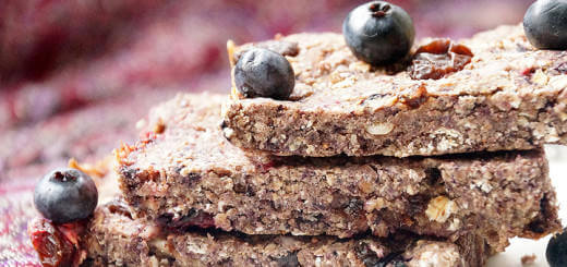 Berry Fruity Energy Bars
